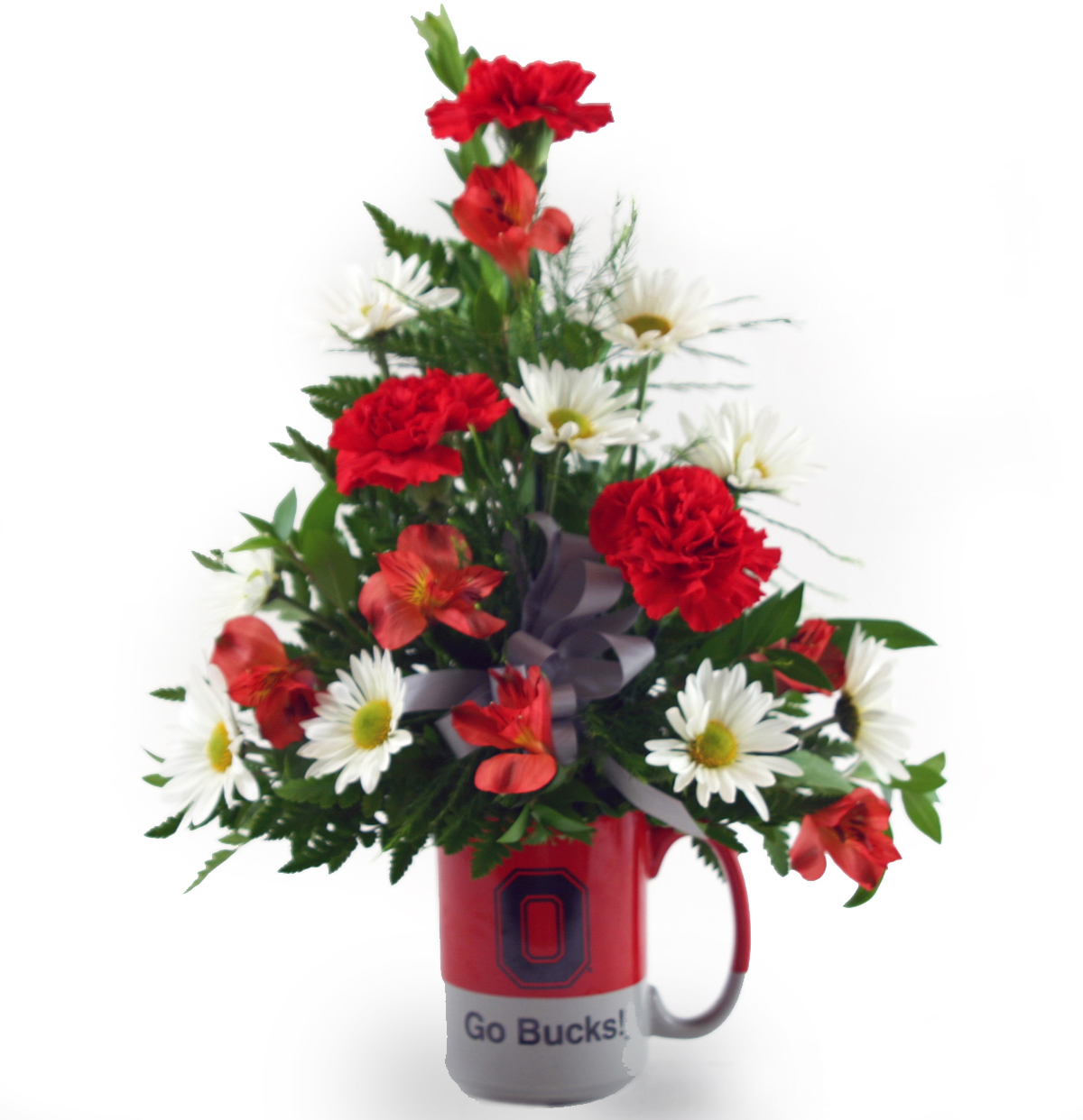 Ohio state scarlet and gray columbus oh florist